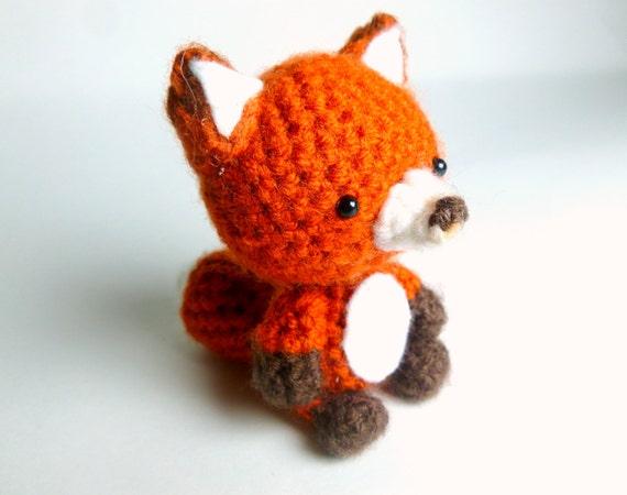Crochet Fox : Crochet Animal Crochet Fox Plush Fox Crochet Animal Amigurumi Fox ...