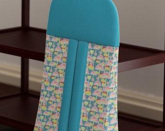 Custom Baby Diaper Stacker - Bombay Dreams - Organic Cotton - Nursery Accessories