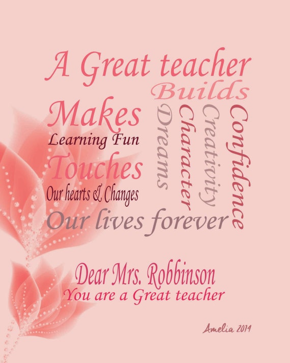 Teacher Quotes End of Year Teachers Gifts Year End Gifts