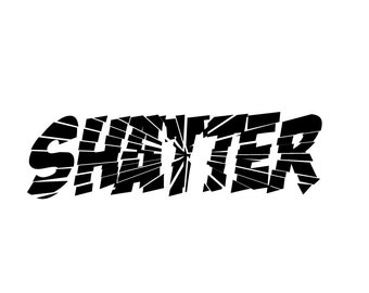 Shatter(ed)  decal