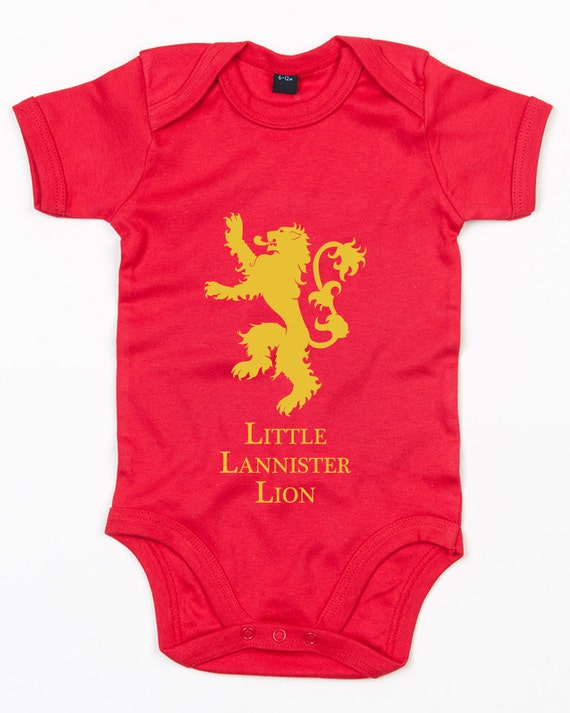 Little Lannister Lion Baby