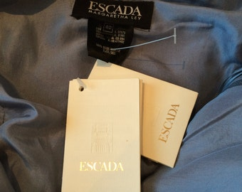 Escada Navy/Blue Sequin top - New with tags! Size 40