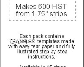 """Thangles 1.25"""" Finished Paper Strips"""
