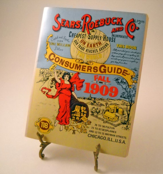 Consumer Guide Book: 1979 Sears Roebuck & Co. Consumer Guide By Sistersvintageattic