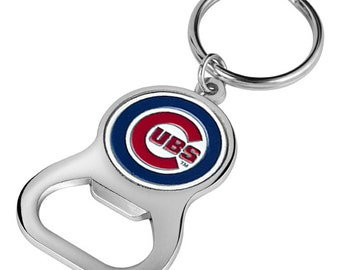 Chicago Cubs Keychain Bottle Opener