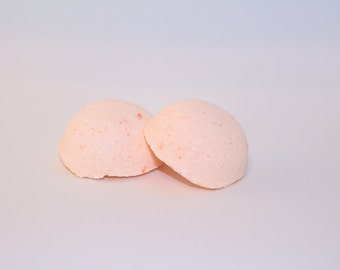 Mini-Size Uplifting Orange Bath Bombs- made with Essential Oil