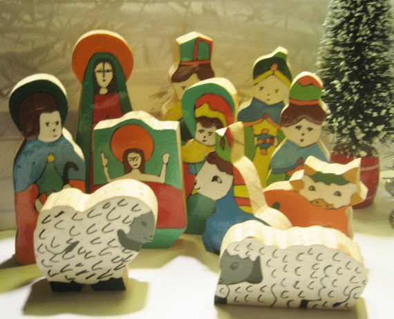 wooden bible story figures 1
