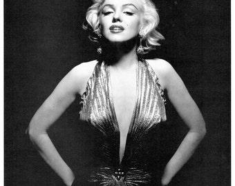 Marilyn Monroe, Norma Jean, Giclee Print, Marilyn Monroe Wall Art, Marilyn Monroe Decor, Old Hollywood, Classic Movie Stars, Pin Up Art