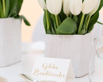 Custom Seating / Place Card Calligraphy