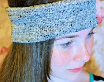 Gray Thick  Headband
