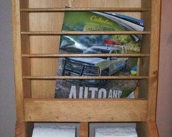 Bathroom Magazine Rack and Toilet Paper Holder