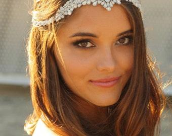 Vintage Swarovski Crystal Three Tier Crown- Selena