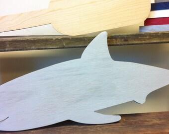 shark nursery, shark wall decor, shark wall art, shark room decor, rustic shark, bathroom decor, large wooden shark, nautical nursery