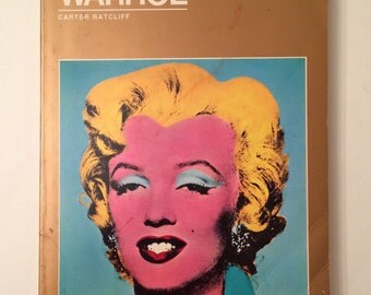 Andy Warhol by Carter Ratcliff  A Vintage Art Book 1983