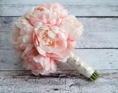 Blush Pink Peony Bouquet