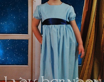 Wendy Dress - Sizes 2T, 3T, 4T, 5, 6, 7, 8 and 10