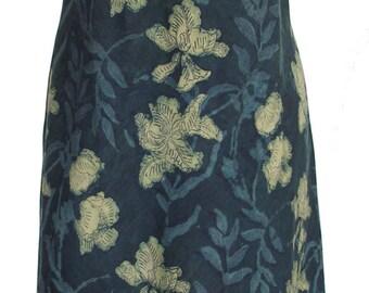 Indigo Iris dress