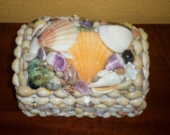 Trinket BOX/SHELL/DIORAMA/Philippines/Vintage Shell Trinket Boxes