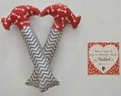 Valentines Day Plush Hammer - Hearts