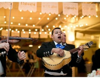 Papel Picado Banner - Fiesta - Celebration - Destination Wedding