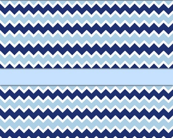 Navy Blue Chevron Wallpaper Border Wall Decals Baby Boy Nursery Childrens Room Kids Bedroom Playroom Zigzag