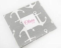 Baby Book, Baby Memory Album, Baby Books, Personalzied Baby Book, The Sweet Rhino