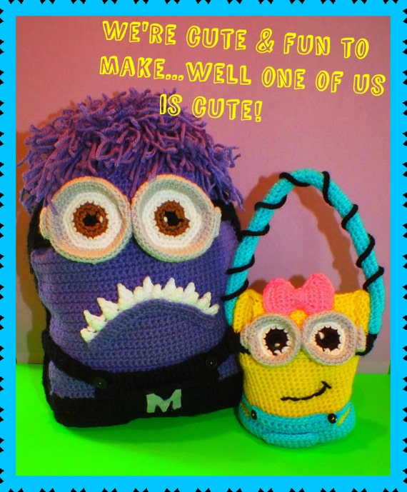 Minion Inspired Purse & Backpack Pattern©