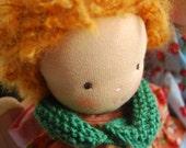 TOSIA  16inches Doll - rag doll - Waldorf doll - cloth doll - organic doll