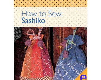 How to Sew: Sashiko Sewing eBook 804021
