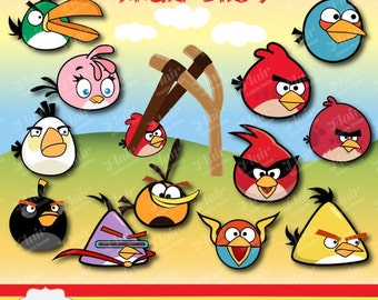 Items Similar To Angry Birds Cookie Cutter Plungers Set