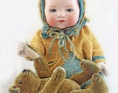 Large Armand Marseille Bisque Baby Doll Mould 341/8 My Dream Baby