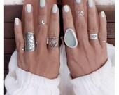 Endless Wave Midi Ring • ONE Silver Midi Wave Ring // Sterling Silver Midi Wave Ring // Nalu Ring // Surfer Jewelry // Wave Jewelry
