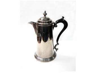 Victorian Silver Plated Coffee Pot c.1850s