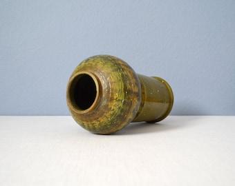 Mid Century Green Bitossi Vase