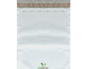 """7.5 x 10.5"""" - 100% Recycled Poly Mailer - Bundle of 100"""