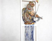 Fiddler on the Roof metal Judaica art OOAK
