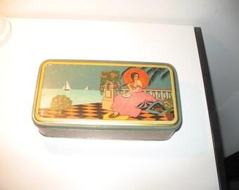 BISCOTTI DELTA-Italian vintage cookies tin box (1930s)