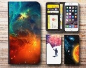 samsung galaxy s5 wallet case leather universe galaxy for s3 s4 s5 note 3 note 4 note edge active mini s6 edge J1 A3 A5 Core Prime galaxy