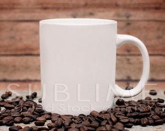 Mockup / Stock Photo / Blank Mug / Cup Mockup / Mug Mockup / Styled Stock Photography / JPEG Digital Image / StockStyle-385