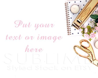 Styled Stock Photography / Styled Desktop / Product Styling / Digital Background / Styled Photography / JPEG Digital Image / StockStyle-455