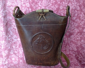 Leather bag 70 years