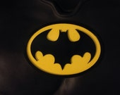 Batman 1989 replica tribute chest emblem for costume and cowl