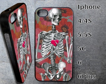 Skeleton Case for iPhone Choose Your Case Size