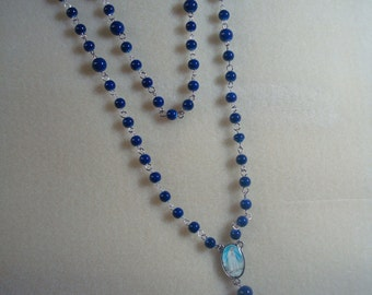 Glass Beads Rosary