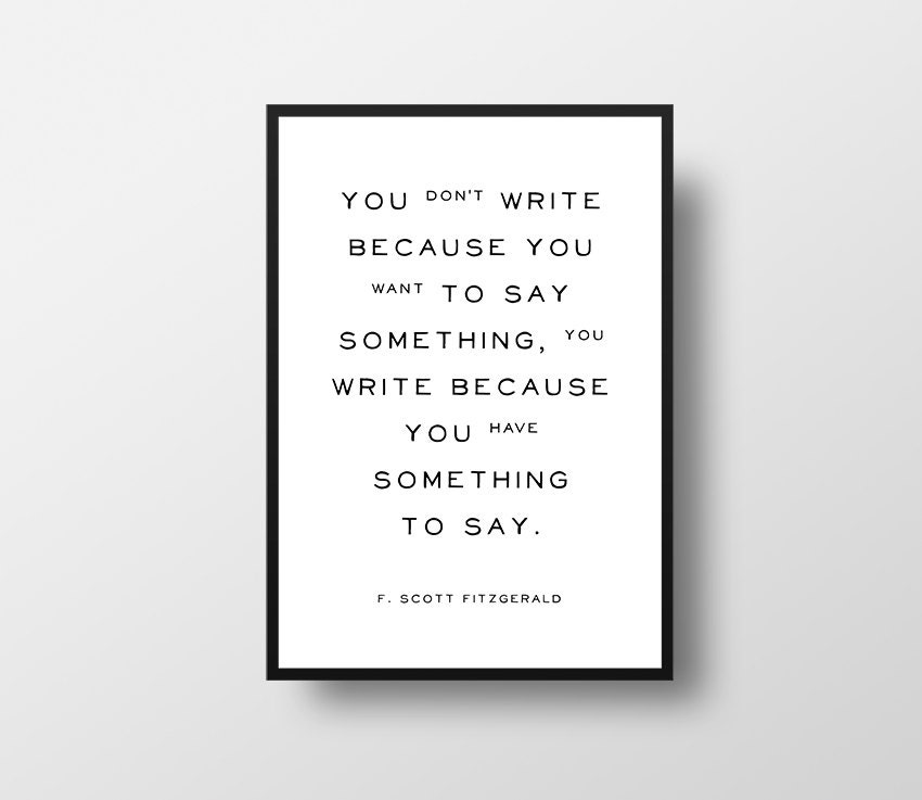 Creative writing inspiration