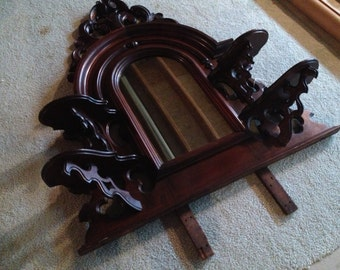 Ginormous gorgeous Victorian mirror, huge!