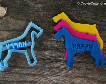 Custom Schnauzer Cookie Cutter Personalized for your Pet!