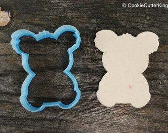 Koala Bear Animals Collection Cookie Cutter, Mini and Standard Sizes, 3D Printed
