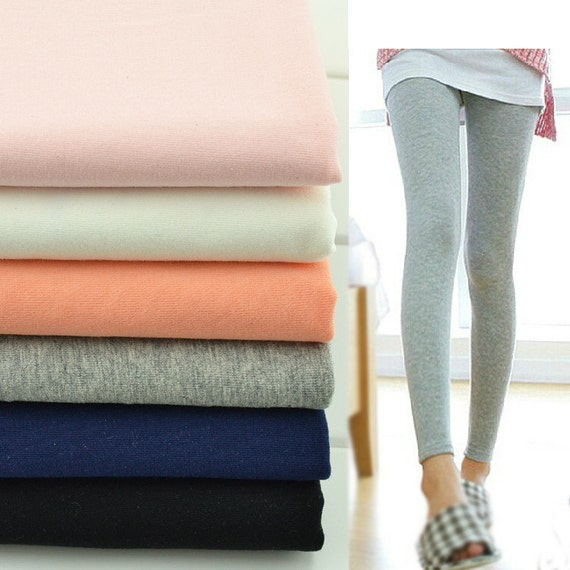 Items similar to Super stretch fabric,cotton knitted ...