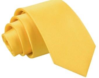 Satin Marigold Boy's Tie